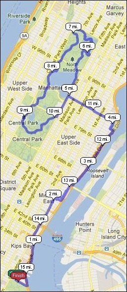 Papa Bear's Beyond Central Park Blog: Long Road to Boston